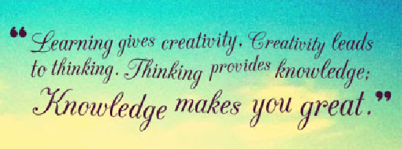 learning-gives-creativity